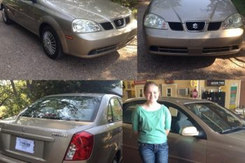 Wordless Wednesday – First Car! 2004 Suzuki Forenza