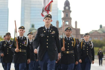 JROTC Veterans Day Parade