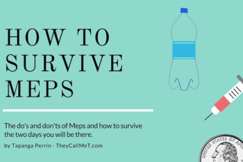 Surviving Meps – The Do's and Don'ts