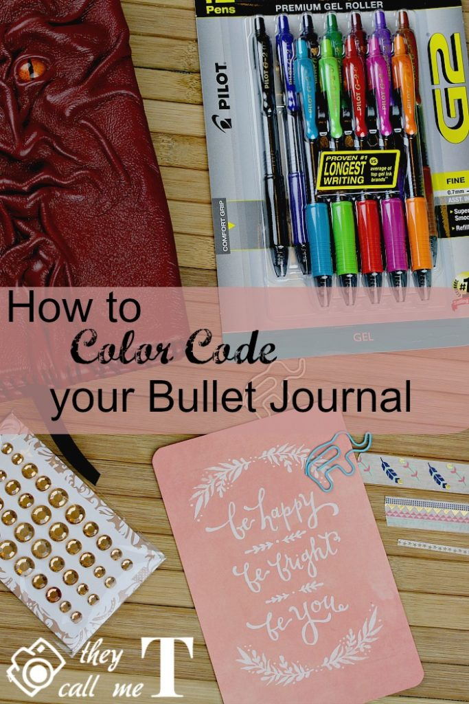 How to Color Code your Bullet Journal