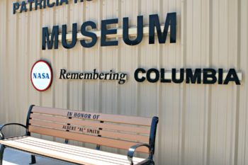 "Patricia Huffman Smith NASA ""Remembering Columbia"" Museum"