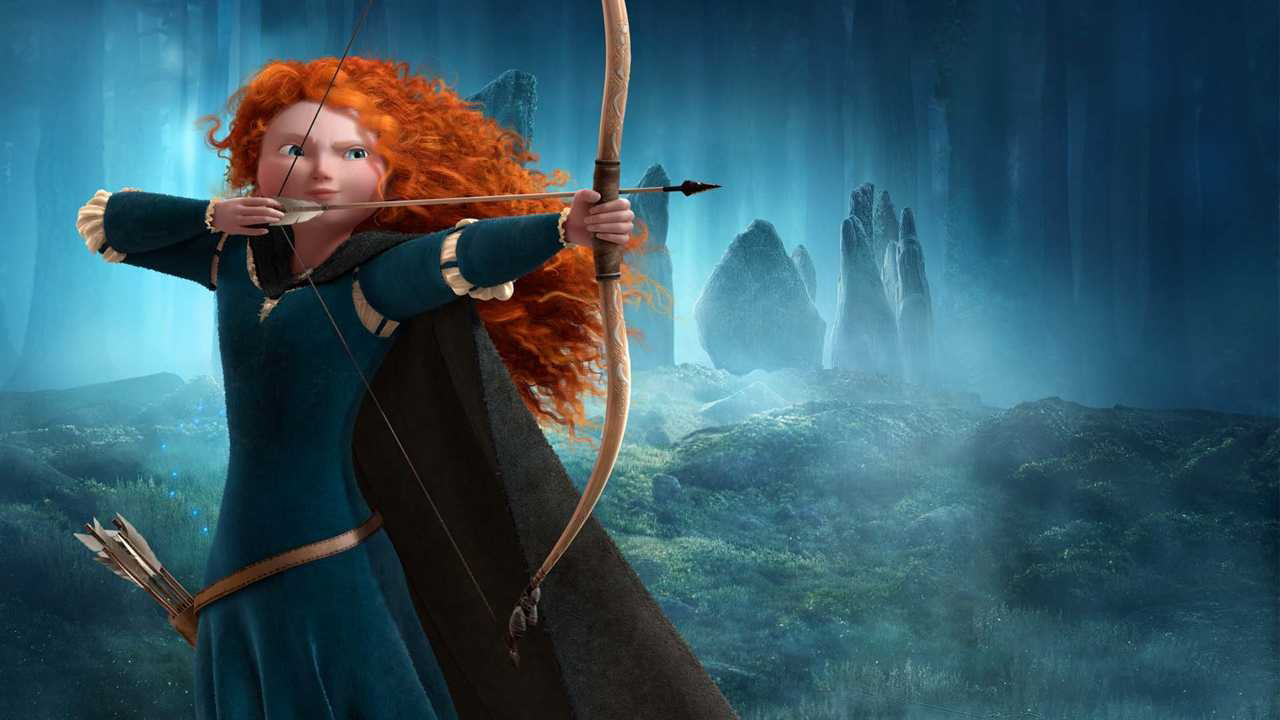 It's just a picture of Unusual Pictures of Merida From Brave