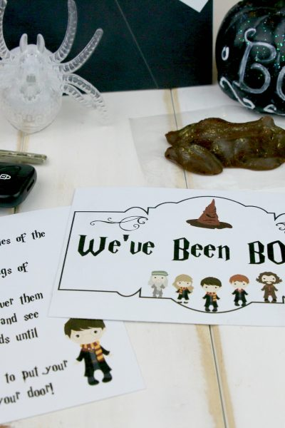 Harry Potter Boo Bag DIY