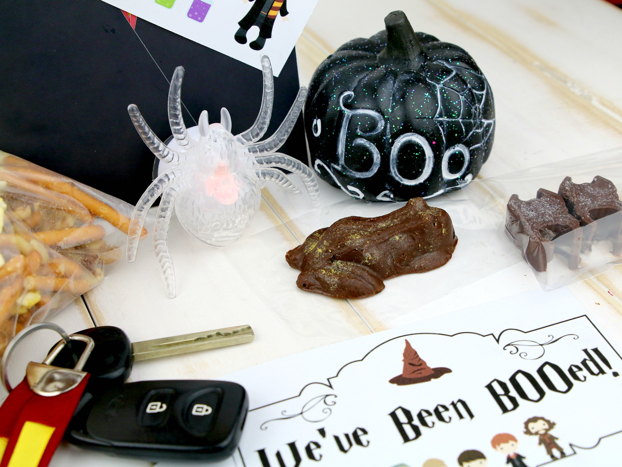 items to put in Harry Potter Boo Bag